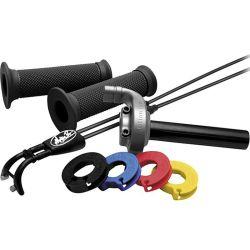 Motion Pro Revolver Gasgriff-Kit mit 4 Zugscheiben