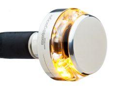 Motogadget Lenkerendenblinker M-Blaze Disc Poliert E-geprüft für vorn