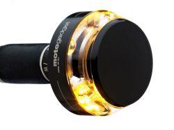 Motogadget Lenkerendenblinker M-Blaze Disc Schwarz E-geprüft für vorn