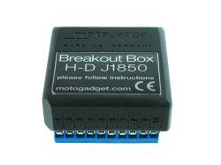 Motogagdet Motoscope PRO Breakoutbox Harley Adapter Signalkonverter