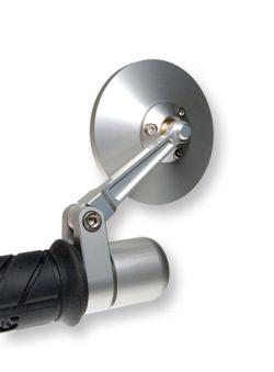 Oberon Lenkerendenspiegel Rund Dm75mm für 22mm oder 1 Zoll Lenker