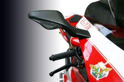 Ducati 1198/1098/848 Spiegelversatz Kit für Originalspiegel 50mm nach aussen