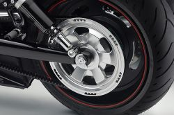 Rizoma Harley V-Rod Billet-Alu Pulley