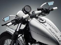 Harley Sportster Lenker Instrumentenhalter Kit