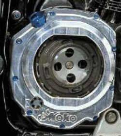 Kupplungsdeckel mit Sichtscheibe für Suzuki