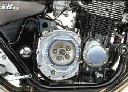 Kupplungsdeckel mit Sichtscheibe für Honda
