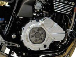 Kupplungsdeckel mit Sichtscheibe für Kawasaki