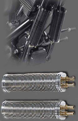 Ölkühlerpaar 190mm für EVO, Softtail und TwinCam