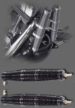 Ölkühlerpaar 280mm für EVO, Softtail und TwinCam